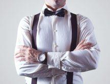 Bow tie businessman fashion man large 216x165